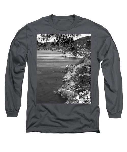 Cinque Terre Coastline Long Sleeve T-Shirt