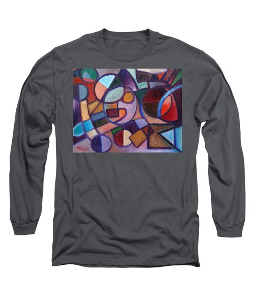 Circle Speaker Long Sleeve T-Shirt by Jason Williamson