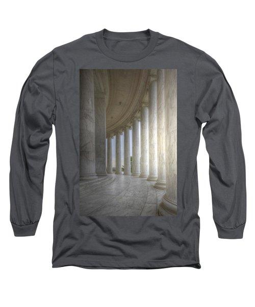Circular Colonnade Of The Thomas Jefferson Memorial Long Sleeve T-Shirt