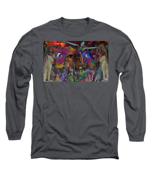 Solar Mind Long Sleeve T-Shirt by Joseph Mosley