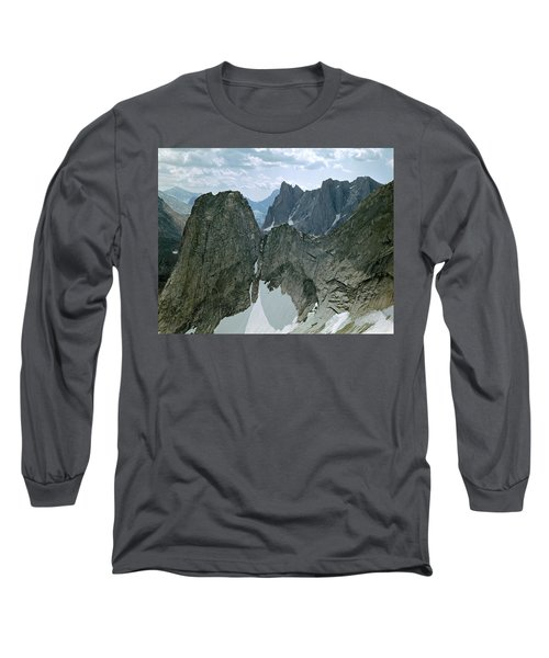 209615-cirque Of Towers, Wind Rivers, Wy Long Sleeve T-Shirt