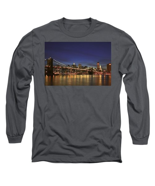City Of Lights Long Sleeve T-Shirt
