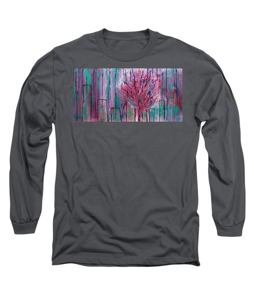 City Pear Tree Long Sleeve T-Shirt
