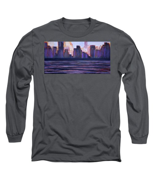 City Sunset Long Sleeve T-Shirt