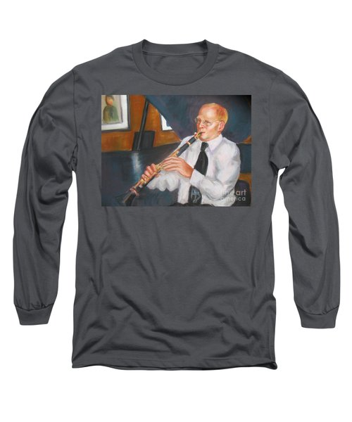 Clarinet At Palm Court Long Sleeve T-Shirt