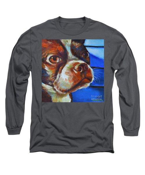 Classy Hank Long Sleeve T-Shirt by Robert Phelps