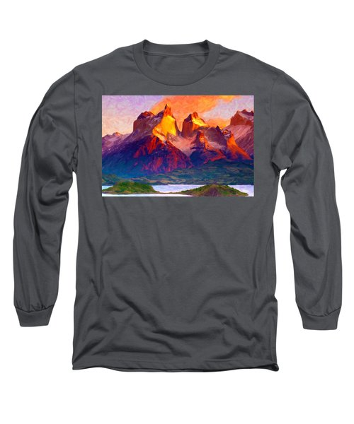 Cleft Summit Long Sleeve T-Shirt