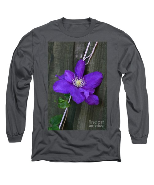 Clematis On A String Long Sleeve T-Shirt
