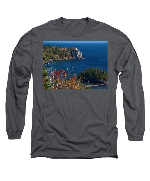 Cliffside Scenic Vista Long Sleeve T-Shirt