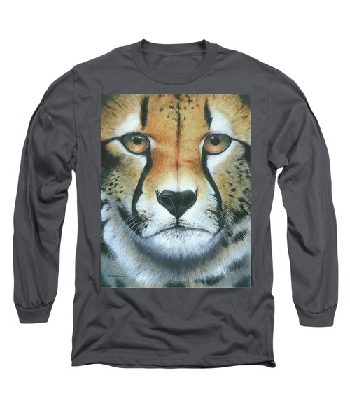 Long Sleeve T-Shirt featuring the painting Close To The Soul by Mike Brown