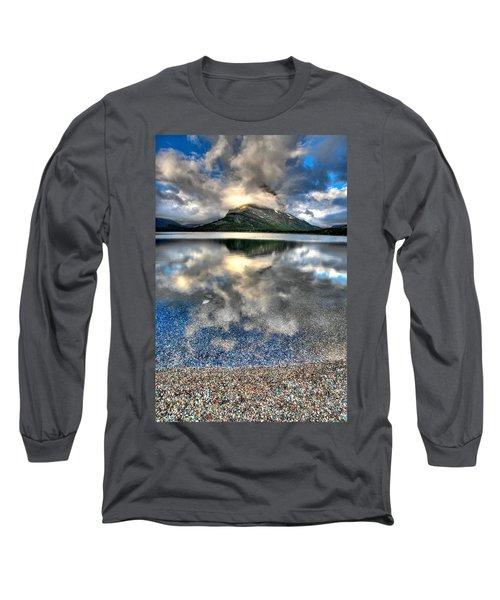 Long Sleeve T-Shirt featuring the photograph Cloud Catcher by David Andersen