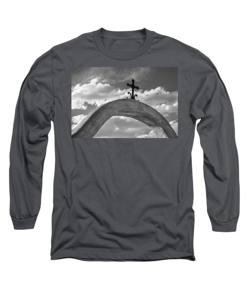 Cloud Cross Long Sleeve T-Shirt