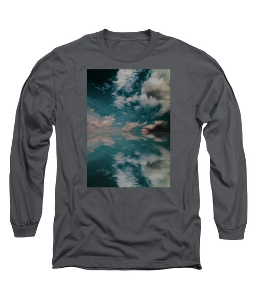 Cloud Reflections Long Sleeve T-Shirt by John Stuart Webbstock