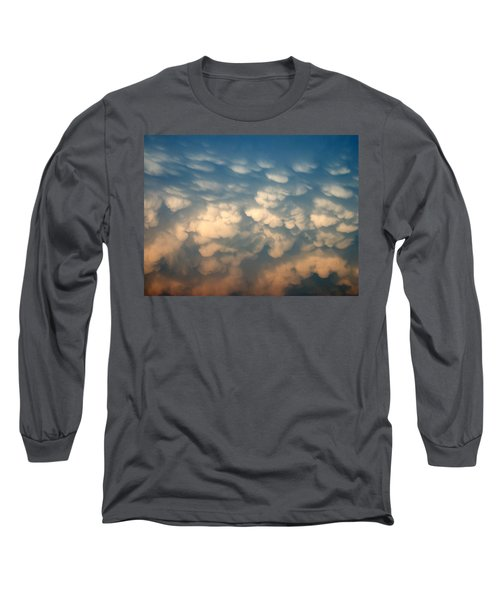 Cloud Texture Long Sleeve T-Shirt