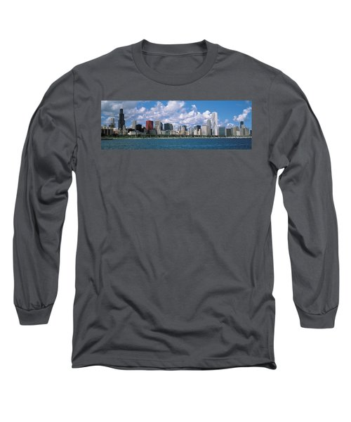 Clouds, Chicago, Illinois, Usa Long Sleeve T-Shirt