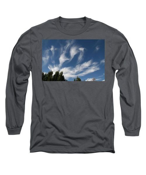 Long Sleeve T-Shirt featuring the photograph Clouds by David S Reynolds