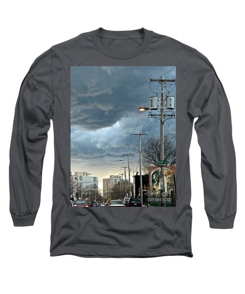 Clouds Over Philadelphia Long Sleeve T-Shirt