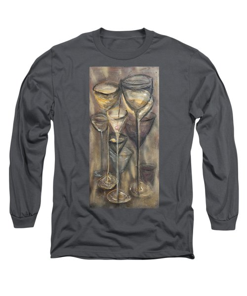 Nine Glasses Long Sleeve T-Shirt