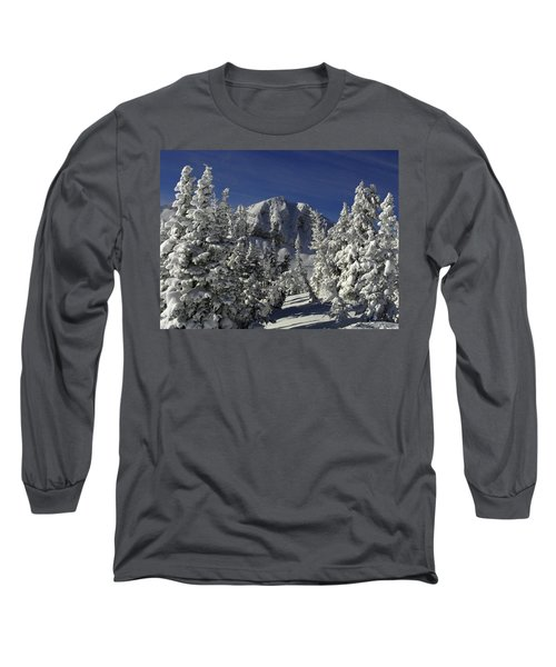 Cody Peak After A Snow Long Sleeve T-Shirt