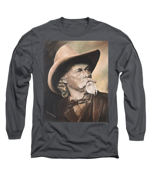 Cody - Western Gentleman Long Sleeve T-Shirt by Mary Ellen Anderson