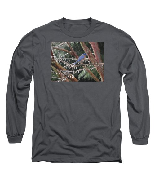 Cold And Blue Long Sleeve T-Shirt