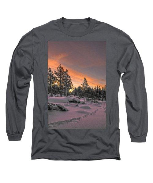 Cold Morning Long Sleeve T-Shirt