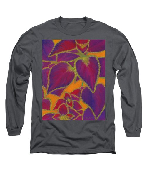 Coleus Gone Wild Long Sleeve T-Shirt