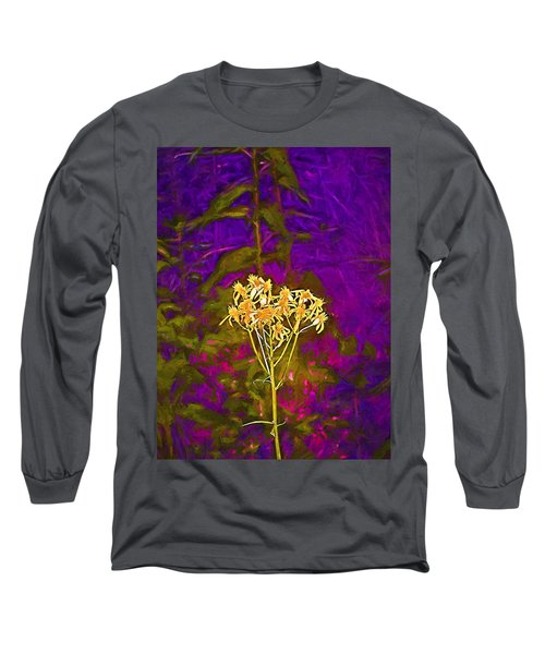 Color 5 Long Sleeve T-Shirt by Pamela Cooper