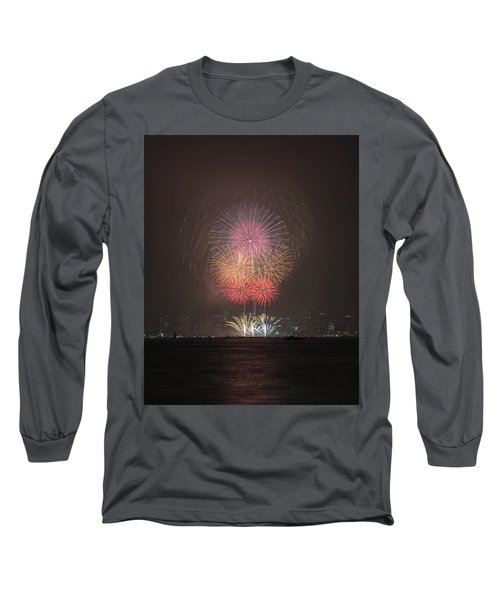 Colored Skies Long Sleeve T-Shirt by John Swartz