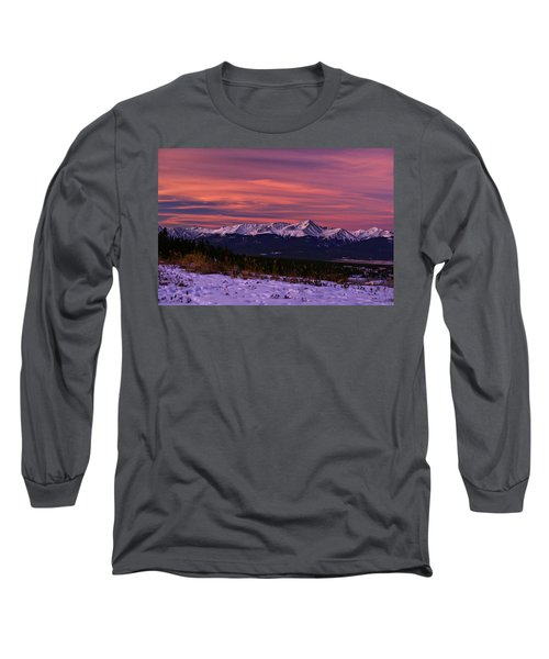 Color Of Dawn Long Sleeve T-Shirt by Jeremy Rhoades