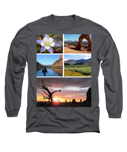 Colorado Utah Calendar 2018 Long Sleeve T-Shirt