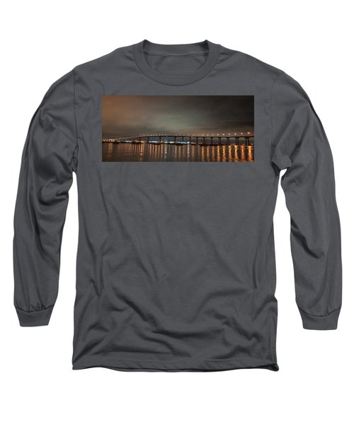Long Sleeve T-Shirt featuring the photograph Coronado Bridge San Diego by Gandz Photography