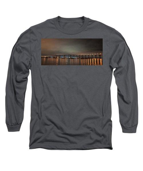 Coronado Bridge San Diego Long Sleeve T-Shirt