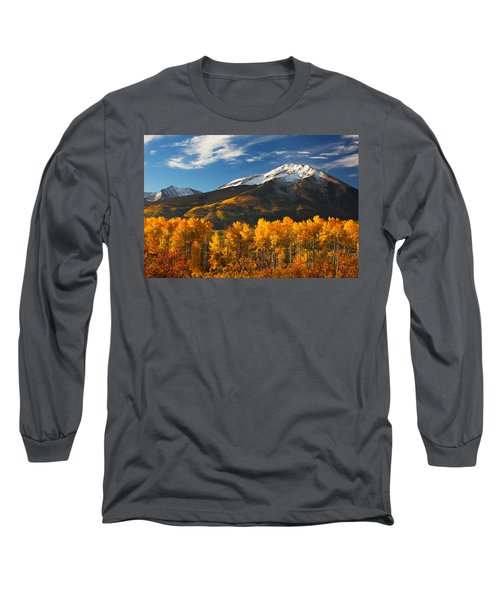 Colorado Gold Long Sleeve T-Shirt by Darren  White