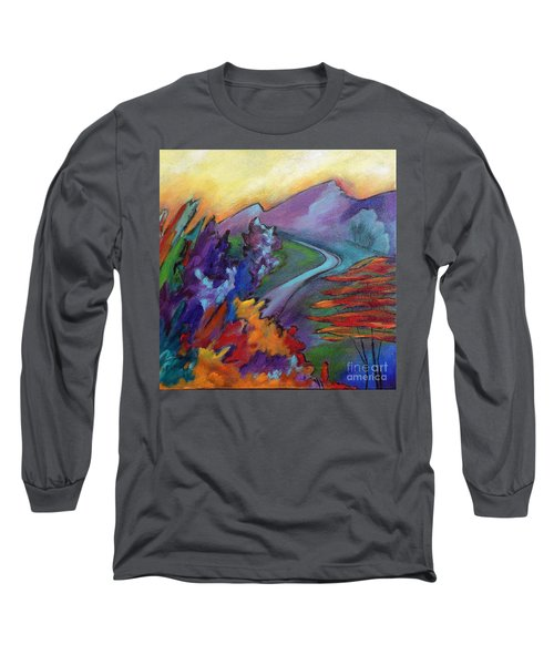 Colordance Long Sleeve T-Shirt by Elizabeth Fontaine-Barr