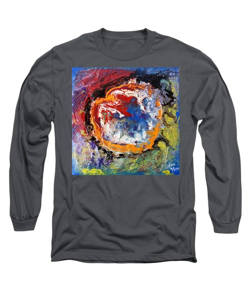 Colorful Happy Long Sleeve T-Shirt