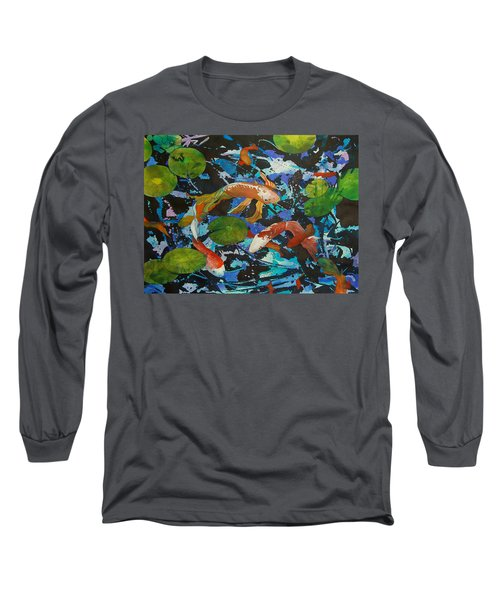 Colorful Koi Long Sleeve T-Shirt