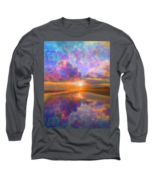 Colorful Sunset By Jan Marvin Long Sleeve T-Shirt