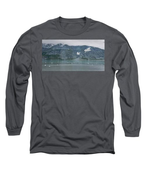 Colors Of Alaska - Glacier Bay Long Sleeve T-Shirt
