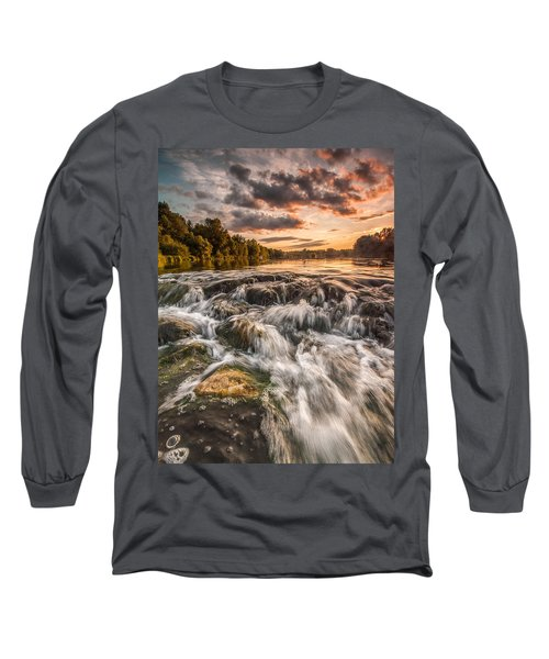 Colors Of Summer Long Sleeve T-Shirt by Davorin Mance