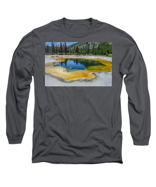 Colors Of Yellowstone Long Sleeve T-Shirt
