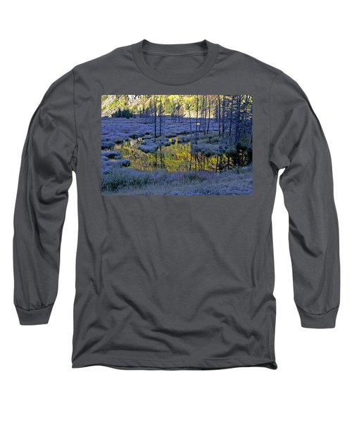 Long Sleeve T-Shirt featuring the photograph Colour Palette by Jeremy Rhoades