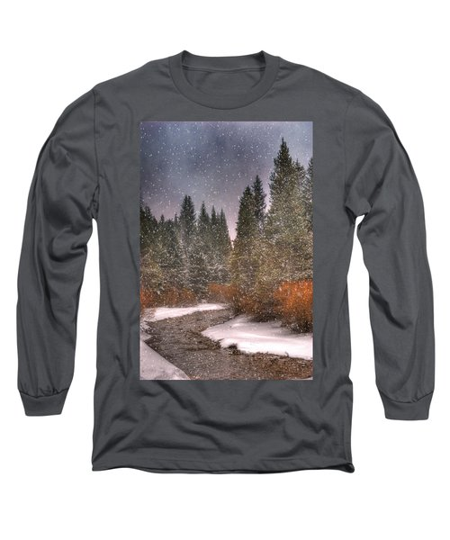 Colours Of Winter Long Sleeve T-Shirt by Juli Scalzi