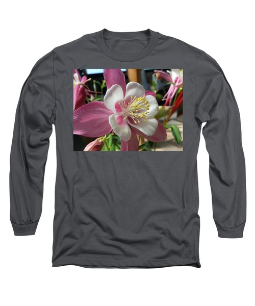 Long Sleeve T-Shirt featuring the photograph Columbine by Caryl J Bohn