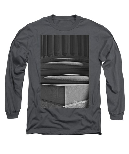 Long Sleeve T-Shirt featuring the photograph Column 1 by Linda Bianic