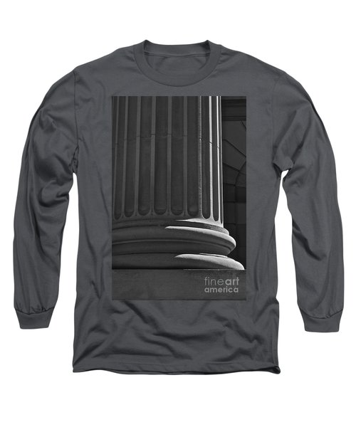 Long Sleeve T-Shirt featuring the photograph Column 2 by Linda Bianic