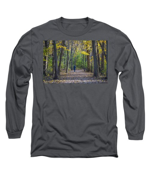 Long Sleeve T-Shirt featuring the photograph Come For A Walk by Sebastian Musial