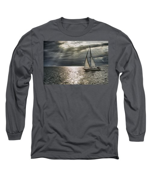 Come Sail Away Long Sleeve T-Shirt by Michael White