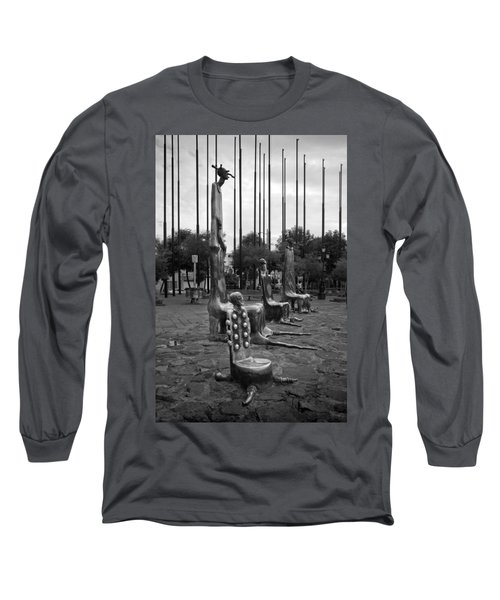 Long Sleeve T-Shirt featuring the photograph Come Sit With Us by Lynn Palmer