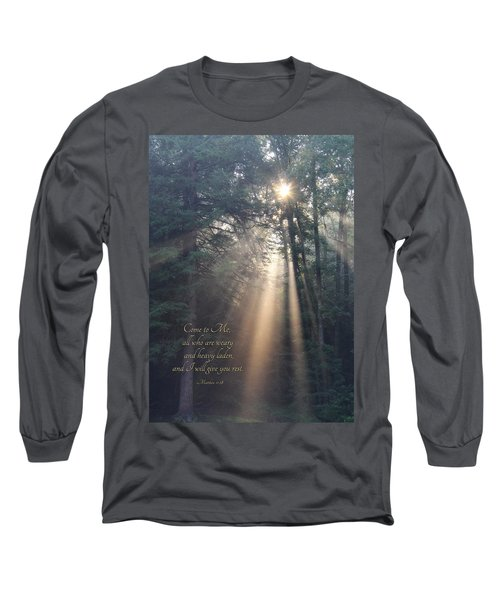 Come To Me Long Sleeve T-Shirt by Lori Deiter